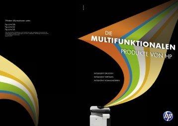 HP MFP-Broschüre - Hewlett Packard