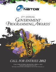 Government - NATOA