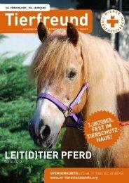 LeiT(d)Tier pFerd - Wiener Tierschutzverein