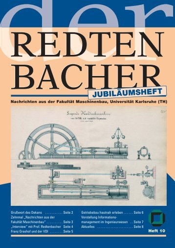 Heft 10 - Fakultät für Maschinenbau