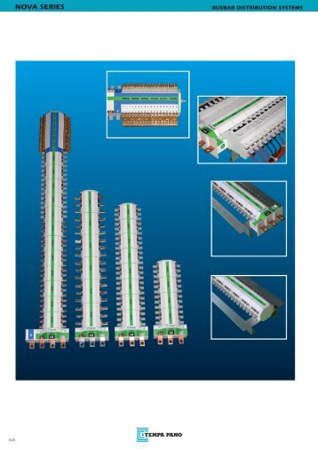 NOVA Series Busbar Distribution Systems - Tempa Pano