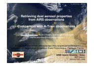 Download PDF presentation - ARA - Atmospheric Radiation Analysis