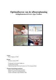 Eindverslag - Ontwerp Systemen - Technische Universiteit Eindhoven
