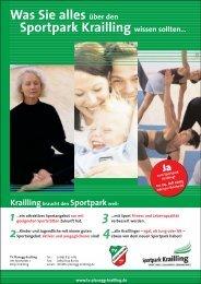 Was Sie alles über den Sportpark Krailling wissen ... - Wuermtal.Net