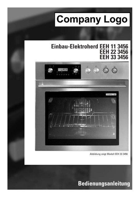 Bedienungsanleitung Einbau Elektroherd Eeh 11 3456 Eeh 22