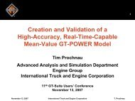 Creation and Validation of a High-Accuracy, Real-Time-Capable ...