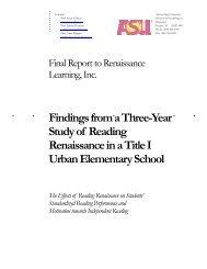 Reading Renaissance - Renaissance Learning