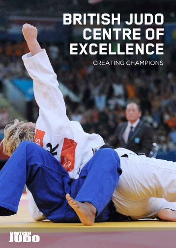 Download a copy of the centre prospectus - British Judo Association