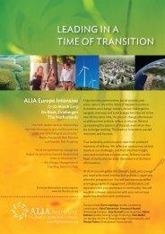 Programme Flyer (PDF) - ALIA Institute