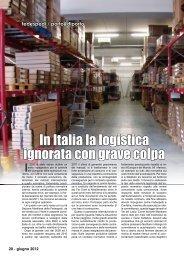 In Italia la logistica ignorata con grave colpa - Porto & diporto