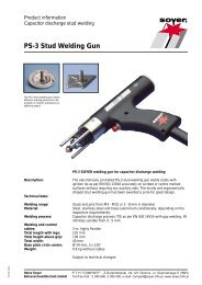 PS-3 Stud Welding Gun - Soyer