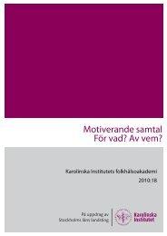 Motiverande samtal 2010-18.pdf - Folkhälsoguiden