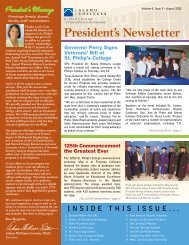 President's Newsletter - Alamo Colleges