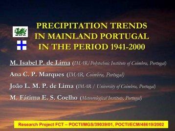 precipitation - APRH