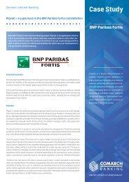 Comarch Internet Banking - case study: BNP Paribas Fortis