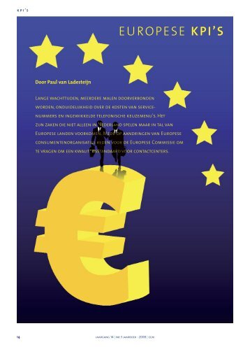 Europese KPIs (Key Performance Indicatoren) vervolg - Callcenter ...