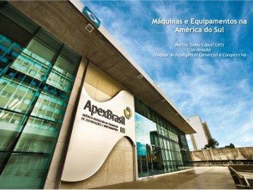 Máquinas e Equipamentos na América do Sul - Abimaq