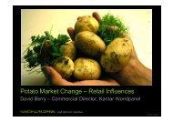 Potato Market Change –  Retail Influences - Teagasc