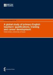 A global study of primary English teachers ... - TeachingEnglish