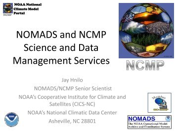 NOMADS and NCMP Science and Data ... - GO-ESSP - NOAA