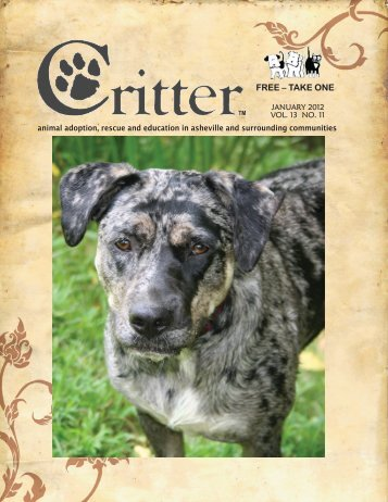 ALL PAGES-JANUARY 2012 - Critter Magazine