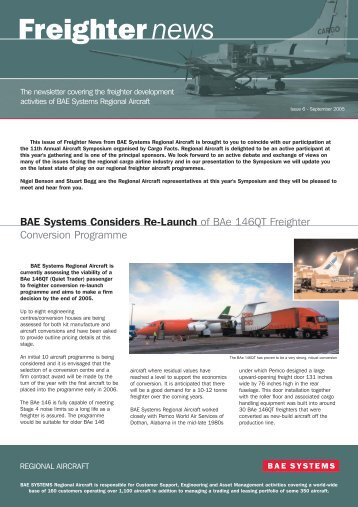 freighters news issue 6.qxd - Regional-Services.com
