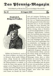 Das Pfennig-Magazin – No. 15 (Ausgabe vom 10. August ... - Igelity