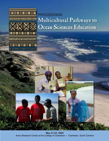 Multicultural Pathways to Ocean Sciences Education - cosee se