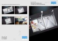 Nouveaux modules pour concepts de cuisines parachevés - Suter