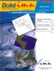 Octubre de 2008 - Instituto Meteorológico Nacional