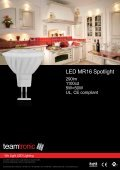 LED Dimmable GU10 Spotlight - Teamtronic - Page 3