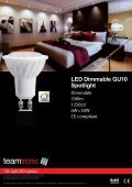 LED Dimmable GU10 Spotlight - Teamtronic - Page 5