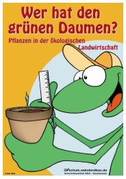 Wer hat den grünen Daumen? - Oekolandbau.de