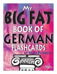 Page 1 Page 2 Page 3 My Big Fat Book of German Flashcards by ...