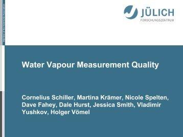 Water vapour measurment quality - Megha-Tropiques