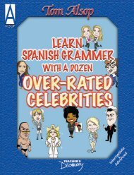 For Intermediate-Advanced Spanish - Teacher's Discovery