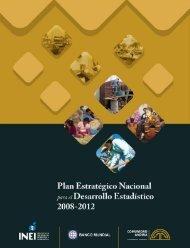 Plan Estrategico Nacional para el Desarrollo Estadistico 2008 - 2012
