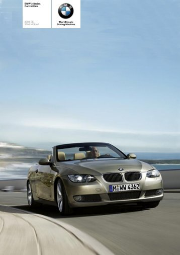 The BMW 3 Series 330d Convertible - Vines