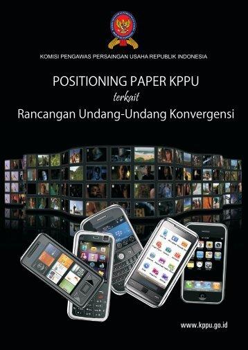 konvergensi pospaper - KPPU