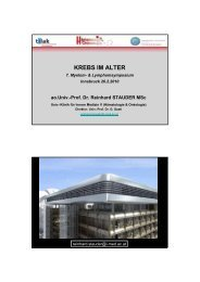 KREBS IM ALTER - Myelom Hilfe Österreich
