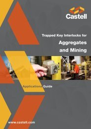 Aggregates and Mining Applications Guide - Castell