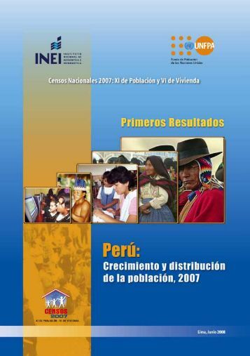 Censos Nacionales 2007 - Inei