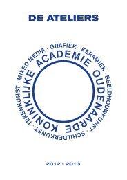 Brochure schooljaar 2012-2013 - Stad Oudenaarde