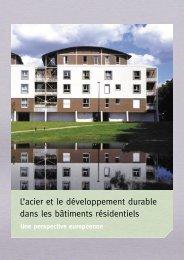 L'acier et le développement durable dans les bâtiments ... - cticm