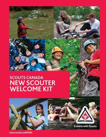 NeW SCOUTer WelCOme KiT - Scouts Canada