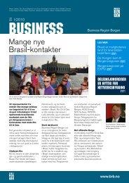 Mange nye Brasil-kontakter - Business Region Bergen