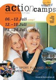 Action Camp A3 2008 4c PDF - Gemeinde Sulz