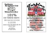 Stadionmagazin 04/2008 Turbine - SV Lemberg - VfB Rotenstein ...