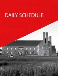 daily schedule - AIA National Convention