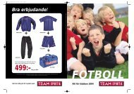 Fotboll - Team Sportia Klubb och Företag